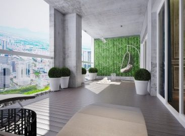 Căn hộ penthouse Green Park dành cho gia đình nhiều thế hệ