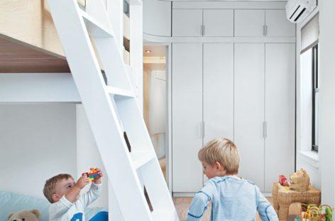 6 mẫu giường tầng thú vị cho trẻ