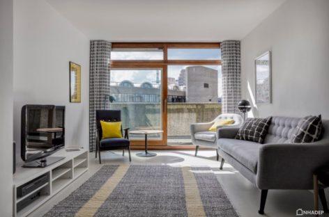 Biến hóa của căn hộ trong khu nhà ở Barbican Estate, Anh