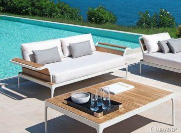 Ngắm nhìn thiết kế linh hoạt của bộ sưu tập bàn ghế ngoài trời Meridien