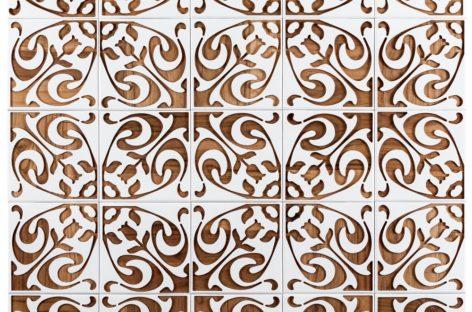 Chiêm ngưỡng bộ sưu tập gạch ốp tường bằng gỗ mang tên Brasiliana