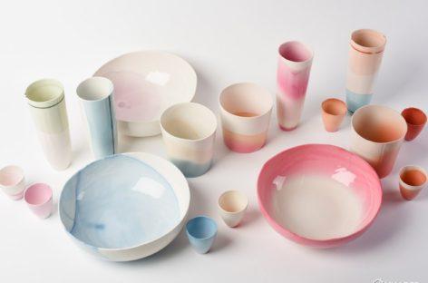 Bộ sưu tập lọ gốm nhiều màu sắc của nhà thiết kế Emma Buckley
