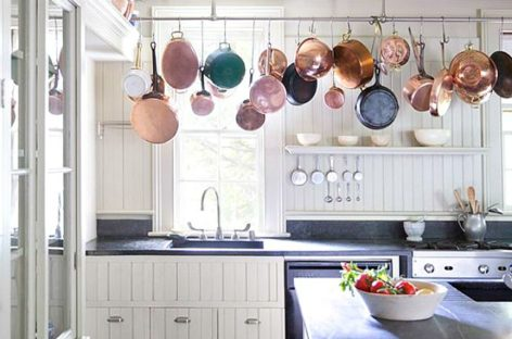 Các gian bếp màu trắng tuyệt đẹp