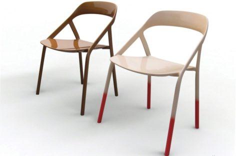 Chiêm ngưỡng chiếc ghế bằng sợi carbon của Michael Young