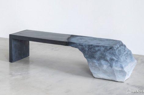 Ghế Drift Bench phá vỡ ranh giới giữa nghệ thuật điêu khắc và thiết kế