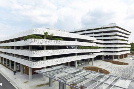 Thiết kế hiện đại của bãi đậu xe cao tầng ở Bỉ