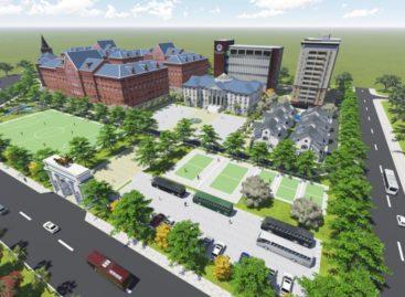Thông báo mời thi tuyển phương án thiết kế kiến trúc công trình Khu phức hợp và đào tạo trường đại học Văn Hiến
