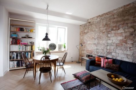 Vẻ đẹp của sự tối giản tại căn hộ Ethnical minimalism, Ba Lan