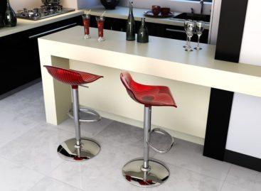 [Sản phẩm nhập khẩu] Ghế quầy bar Aria của Siesta exclusive