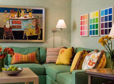 7 nguyên tắc trong việc kết hợp màu sắc