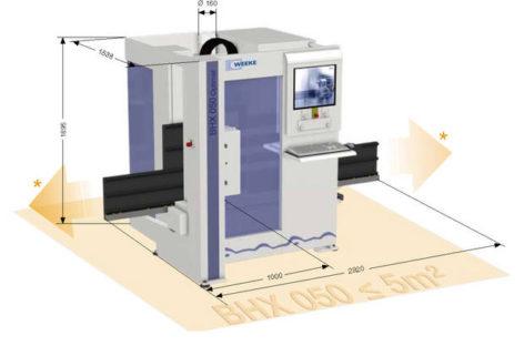 Giới thiệu máy gia công CNC BHX 050 của Homag, CHLB Đức