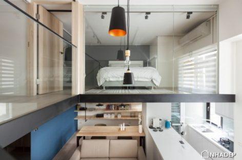 Chiêm ngưỡng căn hộ áp mái hiện đại, cá tính thiết kế bởi Indot