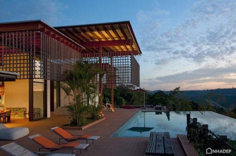 Biệt thự Quinta da Baroneza với tầm nhìn tuyệt đẹp tại Brazil