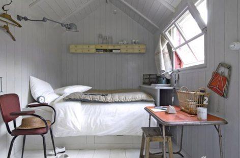 Một số ý tưởng tuyệt vời giúp không gian phòng ngủ trở nên rộng hơn