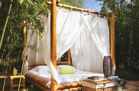 Những kiểu giường ngoài trời lý tưởng cho không gian ngoại thất