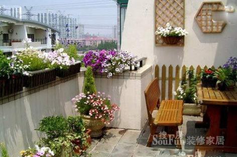 Làm đẹp cho ban công căn hộ chung cư