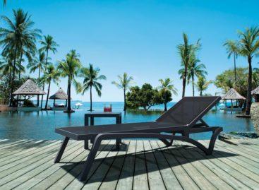 [Sản phẩm đang bán tại Việt Nam] Sang trọng và hiện đại với ghế hồ bơi Pacific của Siesta exclusive