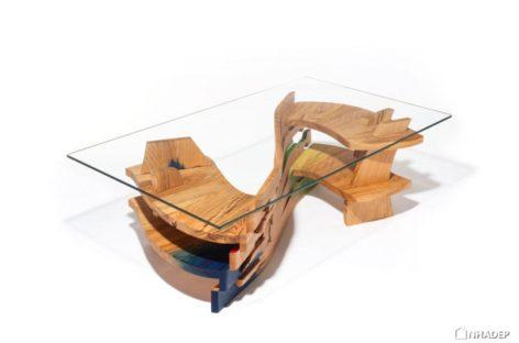 Ngắm nhìn những đồ gỗ nội thất có kiểu dáng lạ mắt của Tuomas Kuure