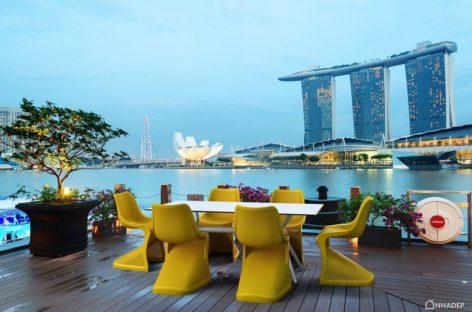 Ngắm nhìn thiết kế mới của Siesta exclusive tại một nhà hàng ở Singapore