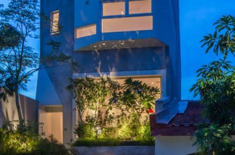 Thiết kế khoảng xanh cho một ngôi nhà ở Rienzi, Singapore