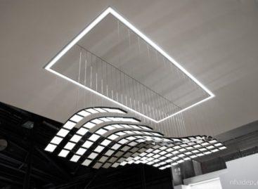Trải nghiệm mới cùng đèn nội thất Manta Rhei