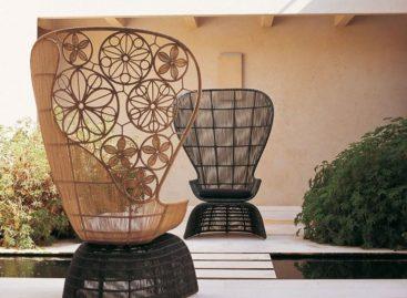 Vẻ đẹp thanh lịch của những chiếc ghế bành lưng cao