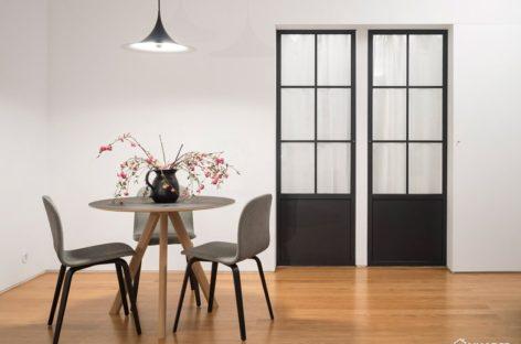 Cải tạo căn hộ chật chội ở Lisbon trở nên rộng rãi, sáng sủa