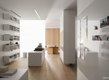 Căn hộ áp mái hiện đại thiết kế bởi Desai Chia Architecture