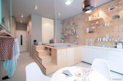 Căn hộ cho thuê hiện đại có diện tích 30m2 tại Budapest