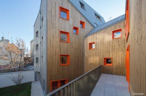 7 thiết kế nhà ở xã hội hiện đại ở Paris