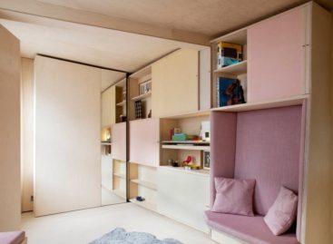 Ấn tượng với thiết kế căn hộ siêu nhỏ 13m2 tại London của Studiomama