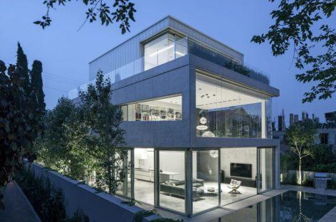 Ngắm nhìn ngôi nhà theo xu hướng hiện đại của kiến trúc sư Pitsou Kedem