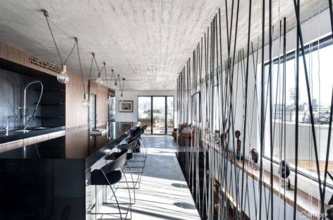 Đến thăm căn hộ Duplex hiện đại ở Tel Aviv, Israel