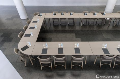 [Sản phẩm nhập khẩu] Giới thiệu về bàn ghế xếp Zown chuyên dùng trong thương mại