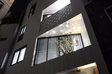 Lời giải của kiến trúc sư cho mảnh đất nhỏ, méo 6 cạnh ở Sài Gòn