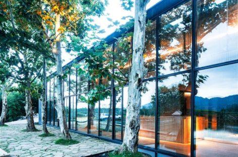 Kiến trúc tinh tế của trà quán thiền Damushan