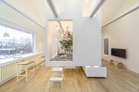 Phòng khách nhỏ mà đầy đủ tiện nghi