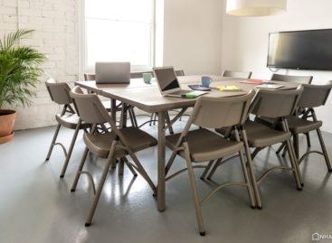 Bàn ghế xếp Zown – Đem đến sự chuyên nghiệp và linh hoạt cho các buổi họp/ hội nghị của công ty (Phần 3)