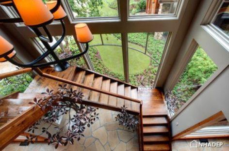 10 ý tưởng thiết kế đơn giản, thanh lịch và độc đáo cho cầu thang gỗ