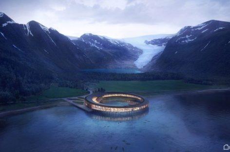Dự án xây dựng khách sạn tiết kiệm năng lượng ở Vòng Bắc Cực