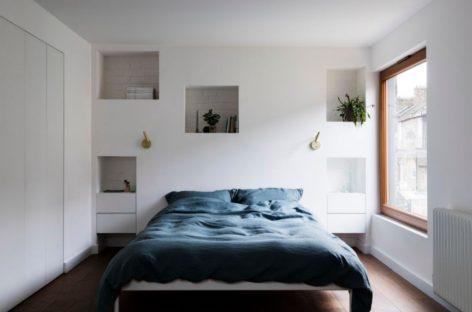 Những thiết kế kệ phòng ngủ hiện đại và tiện ích