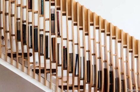 Cầu thang Band Rail đa chức năng cho người yêu sách