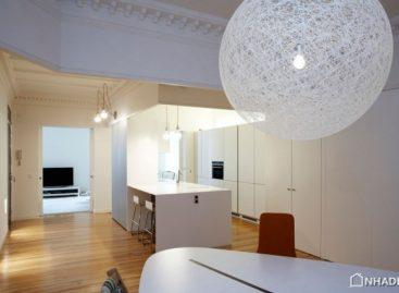 Chiêm ngưỡng ngôi nhà có thiết kế đơn giản nhưng hiện đại tại Madrid
