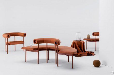 Bộ sưu tập sofa Font của Matti Klenell dành cho thương hiệu Offecct