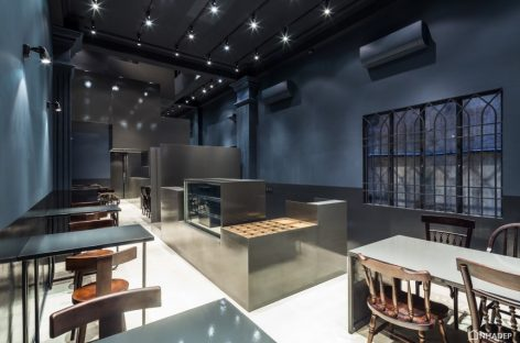 Thiết kế nhà hàng Proscenium với không gian đơn giản và sang trọng