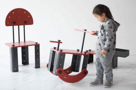 Khám phá khả năng sáng tạo của trẻ em qua sản phẩm nội thất Toniture
