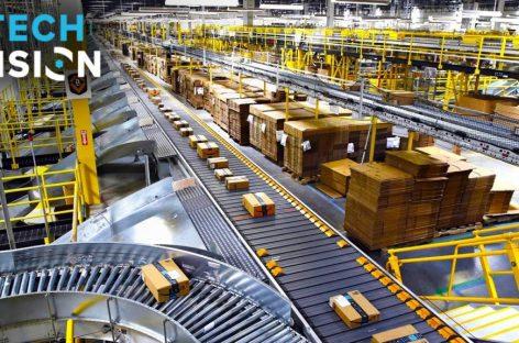 Bên trong nhà kho thông minh của Amazon