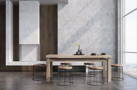 Trang trí bằng xi măng thô mộc – Xu hướng thiết kế phá cách cho nhà ở dân dụng
